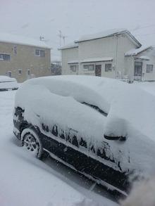 岩手の暴風雪 (3)