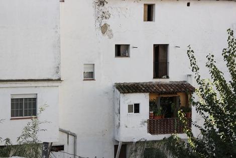 南欧の家の概観ポイント (2)