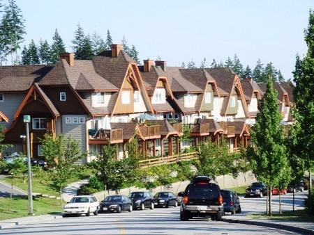 カナダの住宅