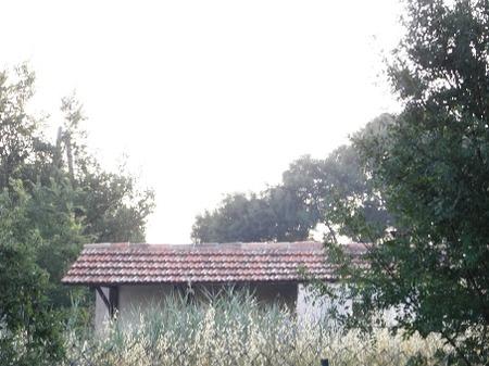 南欧の廃屋�