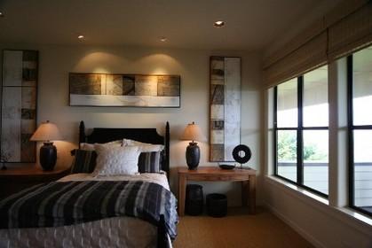 アメリカ住宅:おしゃれな寝室
