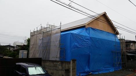 岩手のビルトインガレージの家 (2)