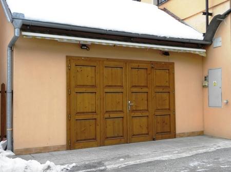 北欧のビルトインガレージ