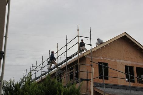 上棟の家(1)