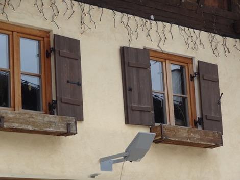 北欧住宅の窓辺 (6)
