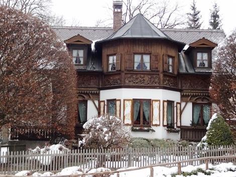 北欧の家の外観 (5)