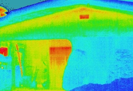 非断熱住宅の熱
