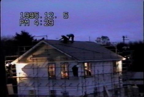 22年前のフレーミング住宅
