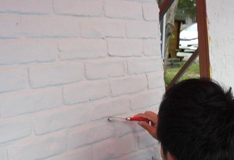 漆喰教室(2)