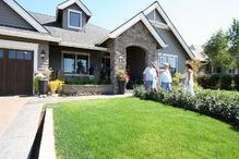アメリカ住宅の庭先(4)