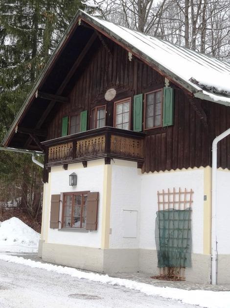 北欧の家の外観 (3)