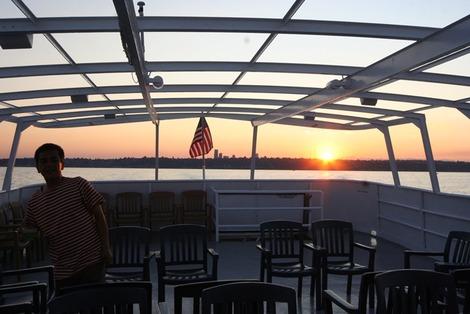 アメリカの遊覧船