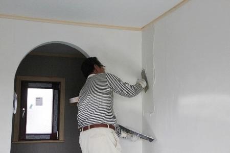 住宅の塗り壁技術�