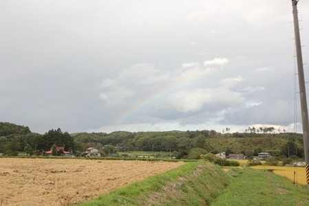 玉山の虹(1)
