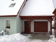 北欧のビルトインガレージ�