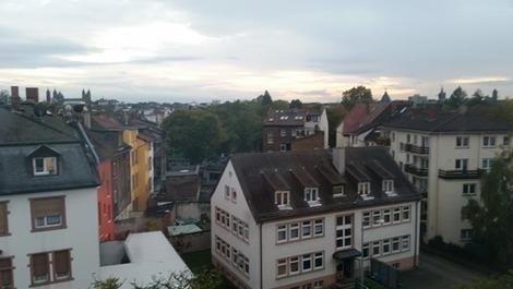ホテルから視界