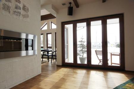 フォールディングドアのある家(2)