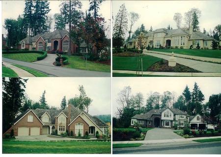 アメリカの高級住宅
