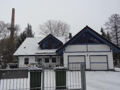 北欧の家の外観 (1)