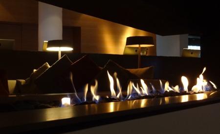 ガス暖炉のある平屋の家(1)
