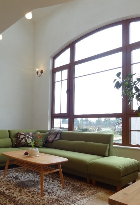 曲線のある窓(2)