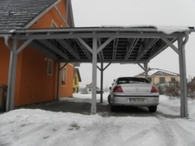 北欧のカーポート�