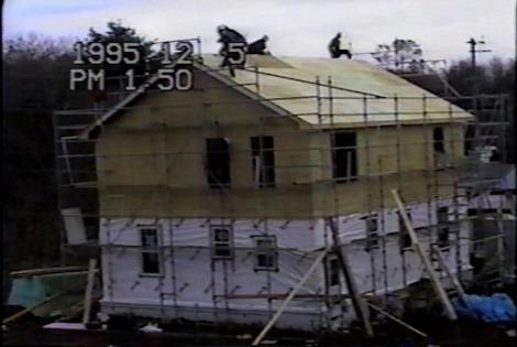 22年前のフレーミング住宅3