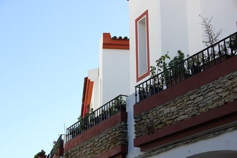 南欧の白い街(4)
