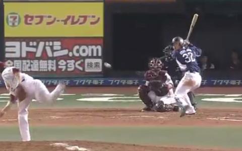 【5回表】低めの球を逆方向へ!! ライオンズ・浅村 先制