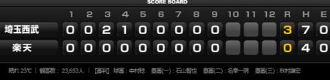 試合トップ   埼玉西武ライオンズ オフィシャルサイト (59)