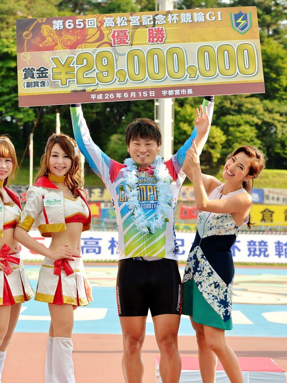 宇都宮競輪「G1・第65回高松宮記念杯競輪」は稲川翔が優勝 ...