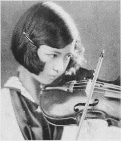 a 戦前に天才少女とうたわれ、いち早く海外でも演奏活動を行った伝説的なバイオ... たけちゃんの