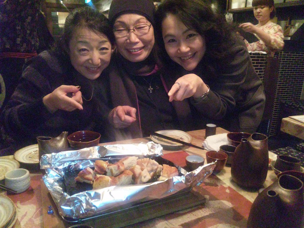 DAIMON Tagebuch : 溶岩焼き 美味い!
