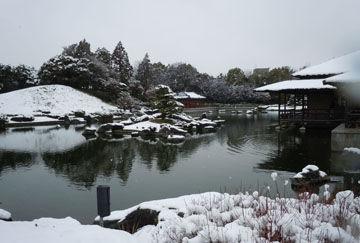 落雪の波紋(ポストカード用)
