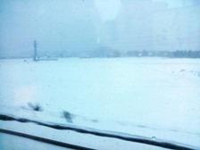 湖西線大雪