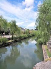 倉敷川沿いの景色