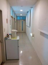 2階病棟廊下全景