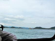 高速船からの景色