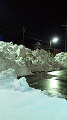 平和堂の雪