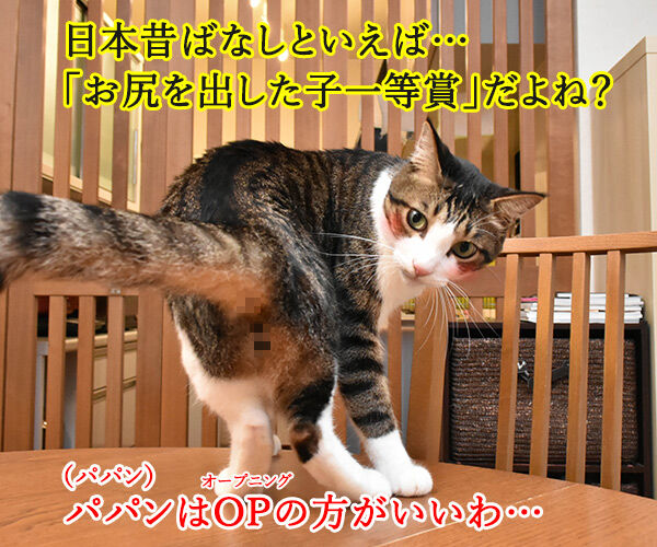 「まんが日本昔ばなし」常田富士男さんにつづき市原悦子さんも亡くなられました 猫の写真で4コマ漫画 2コマ目ッ
