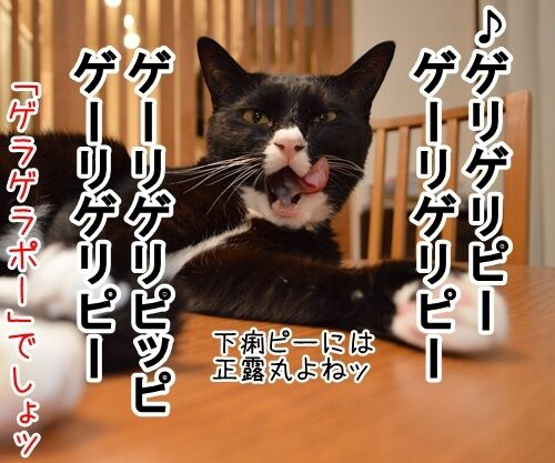 妖怪ウォッチ 猫の写真で4コマ漫画 4コマ目ッ