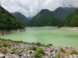七瀬ダム湖