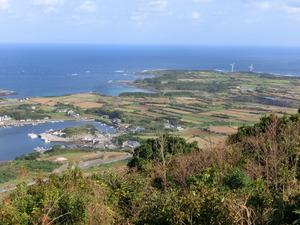 城岳展望台景観