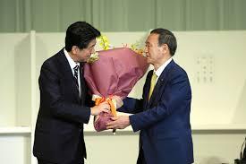 安倍総理花束2