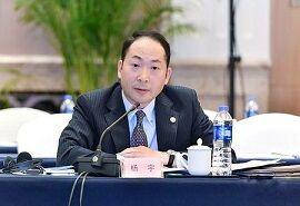 在日中国大使館の楊宇首席公使