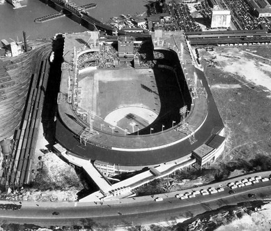 Polo Grounds, Eighth Avenue at 159th Street, 1940