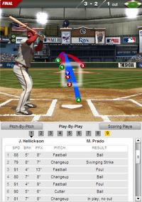 2013年7月31日 ARI vs TB ロス二塁打 投手ヘリクソン