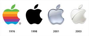 アップルのロゴの変遷