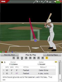 2011年5月17日 ミネソタ戦3回裏 イチロー 一塁ゴロ(データ)