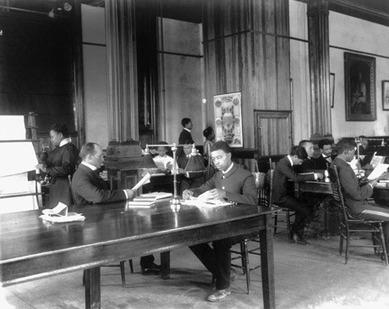 Tuskegee Instituteの図書館